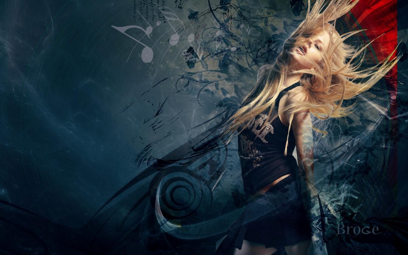 Avril Lavigne Widescreen HQ Wallpaper 369598