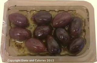 Graze box snack - Greek Kalamata Olives