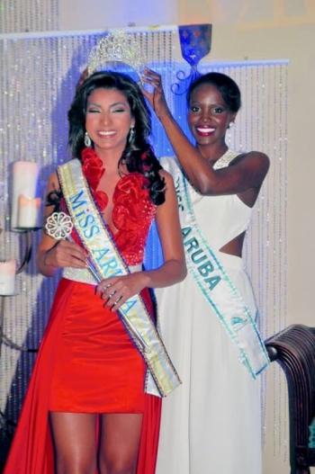 miss aruba 2011 winner lucianette verhoeks