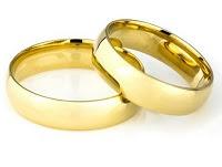 Aliança de Casamento em Ouro 18K Semi Anatômica