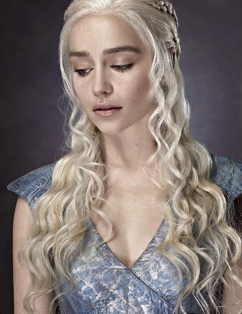 Daenerys Targaryen Emilia Clarke Entertainment Weekly - Juego de Tronos en los siete reinos