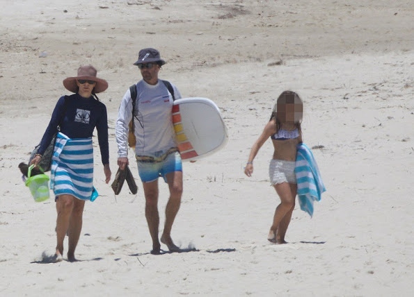 Prince Frederik And Princess Mary On The Beach In Australia