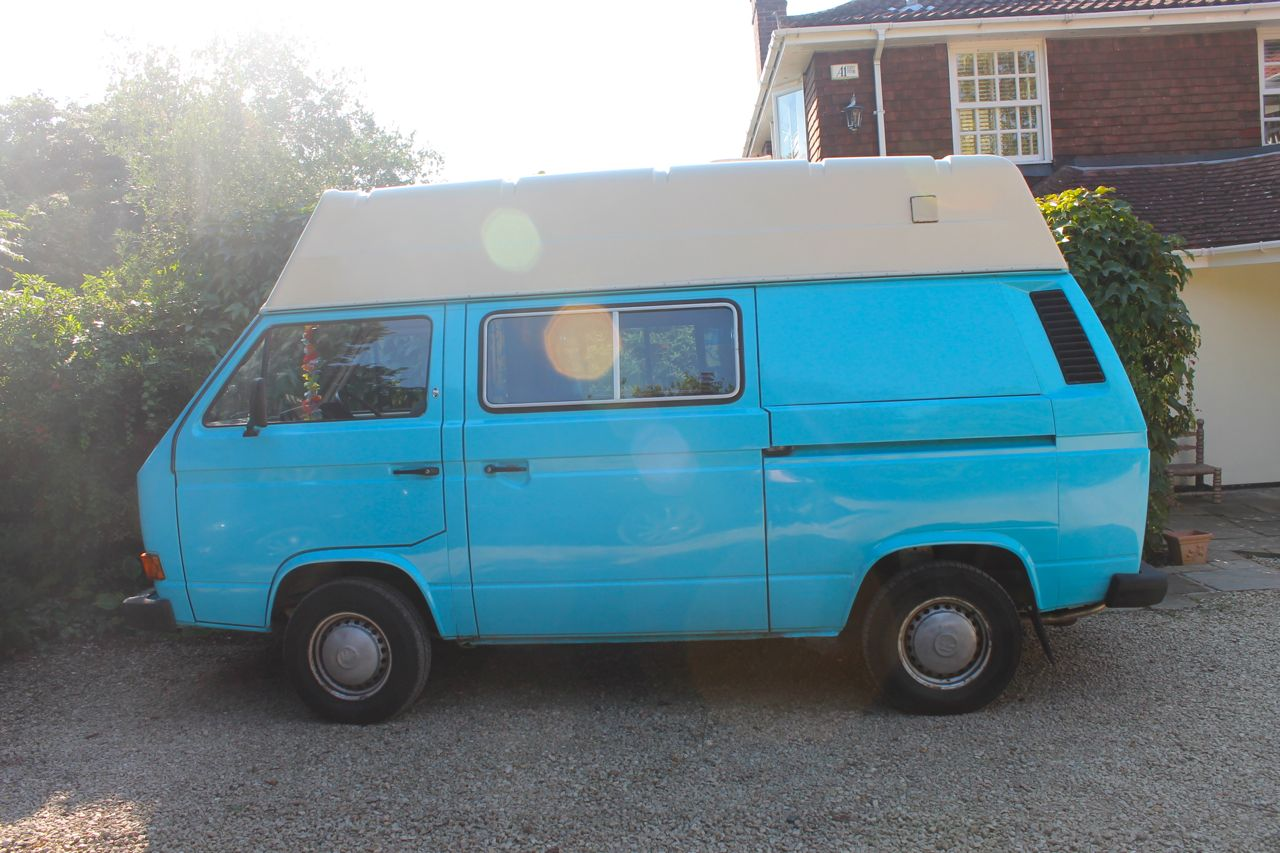 VW T25 Campervan DIY Makeover