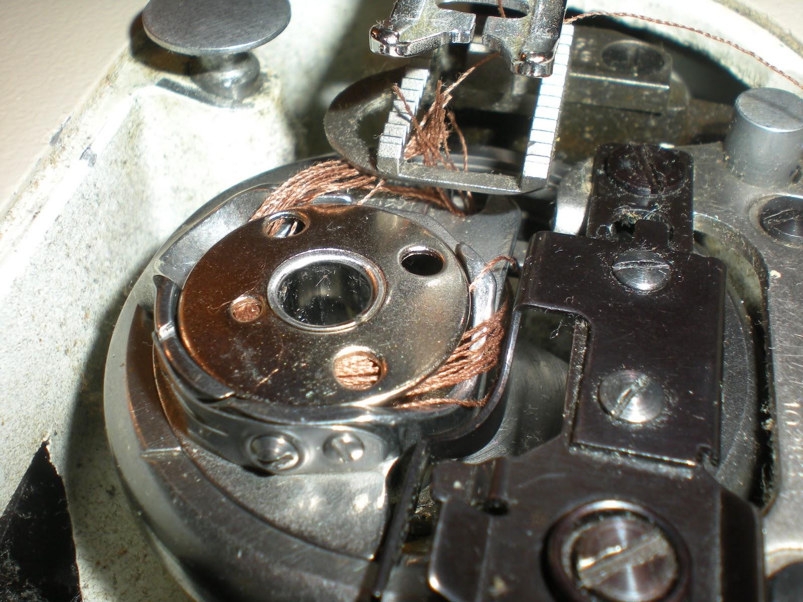 sewing machine bobbin problem