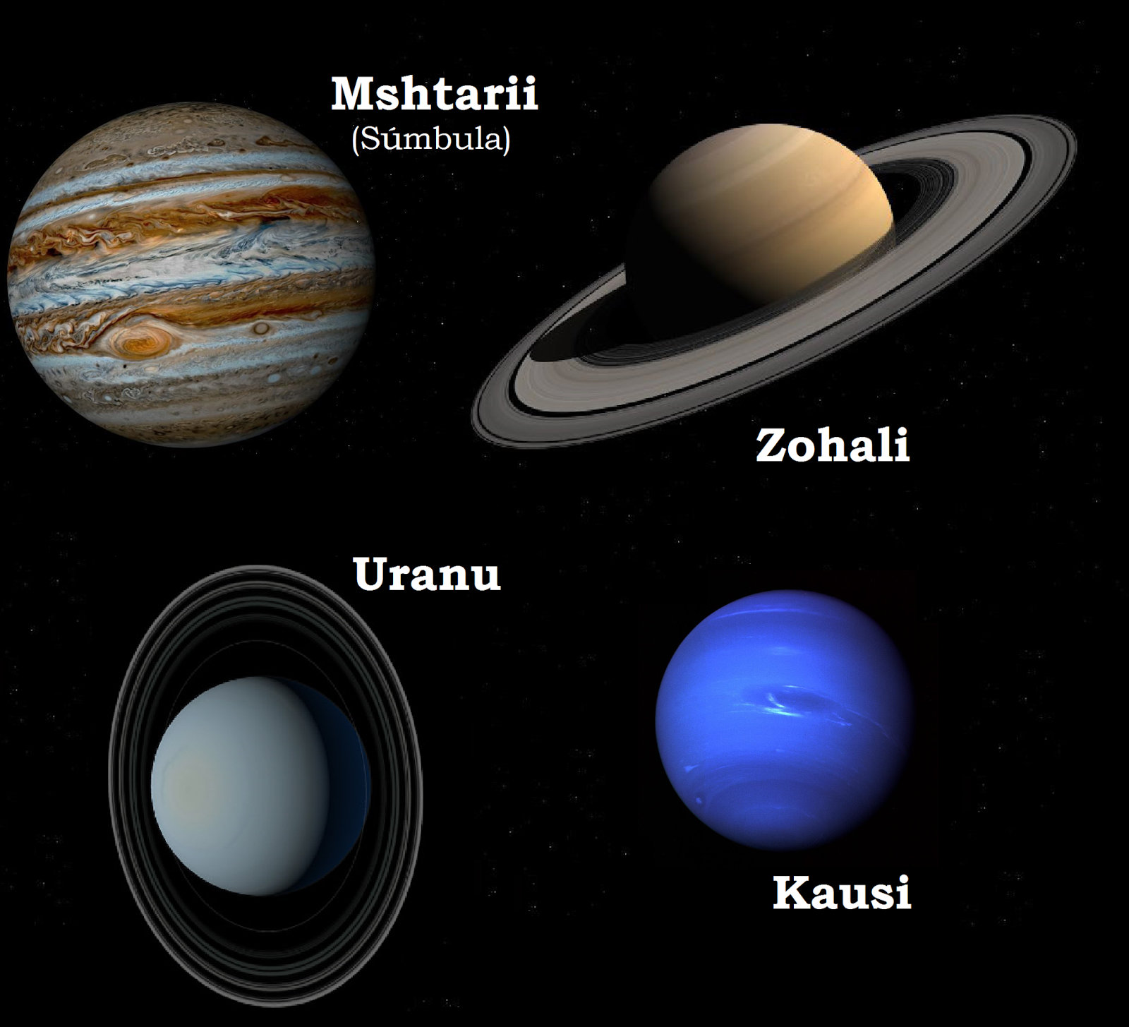 all four gas giants - photo #22
