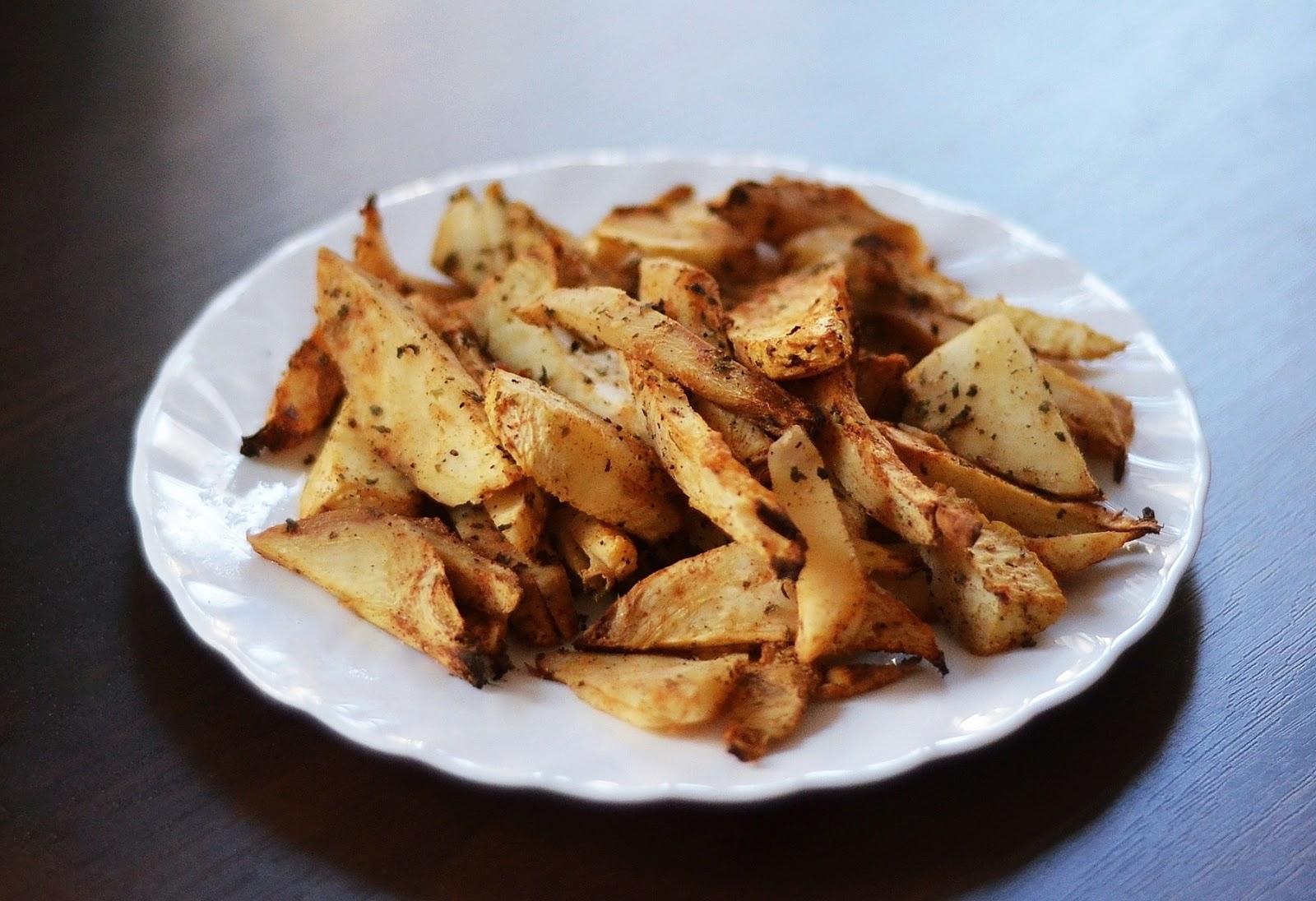 dietetyczne frytki z selera
