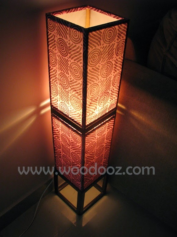 Do it yourself lamp shade