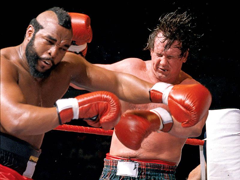 Historia del Wrestling: Roddy Piper vs Mr T, WrestleMania 2