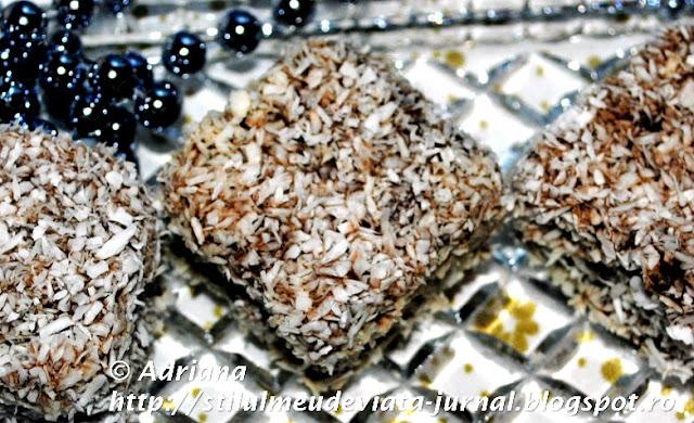 cuburi cu nuca de cocos