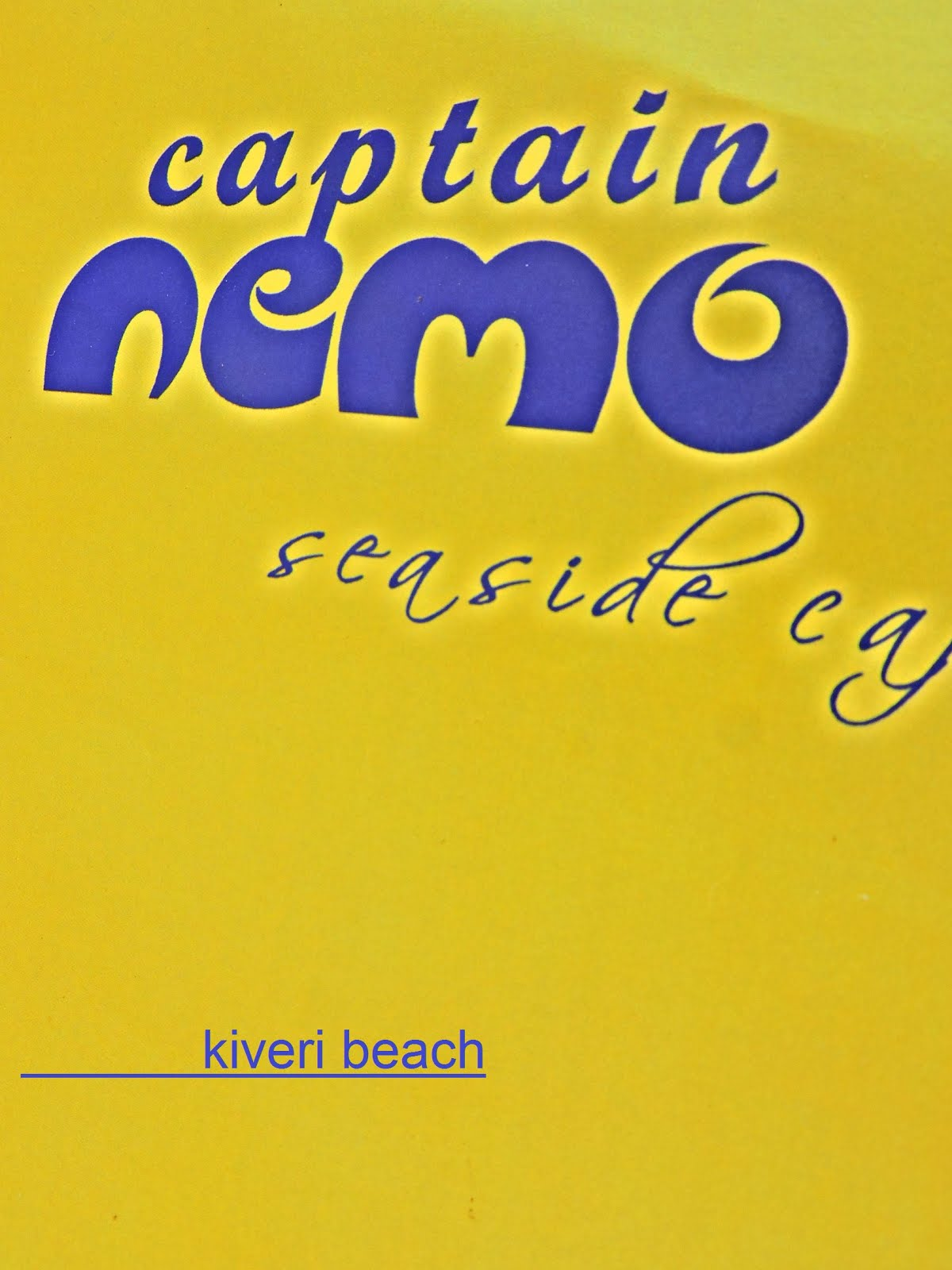 Captain Nemo Seaside Cafe-kiveri beach