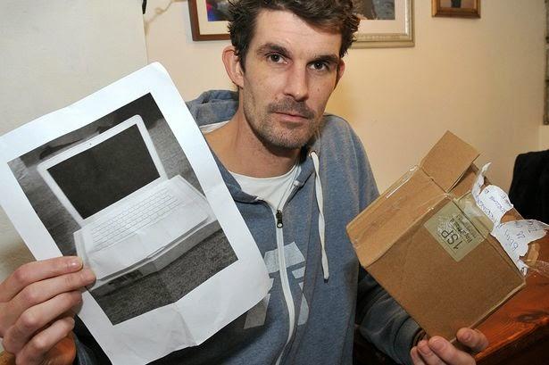 Paul Barrington dan gambar fotocopi laptopnya