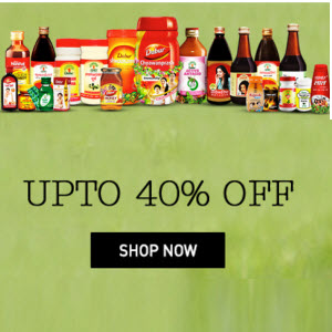 Snapdeal : Buy Dabur Products And get at upto 50% Off