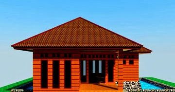 desain rumah kayu mungil bisa untuk villa   desain rumah