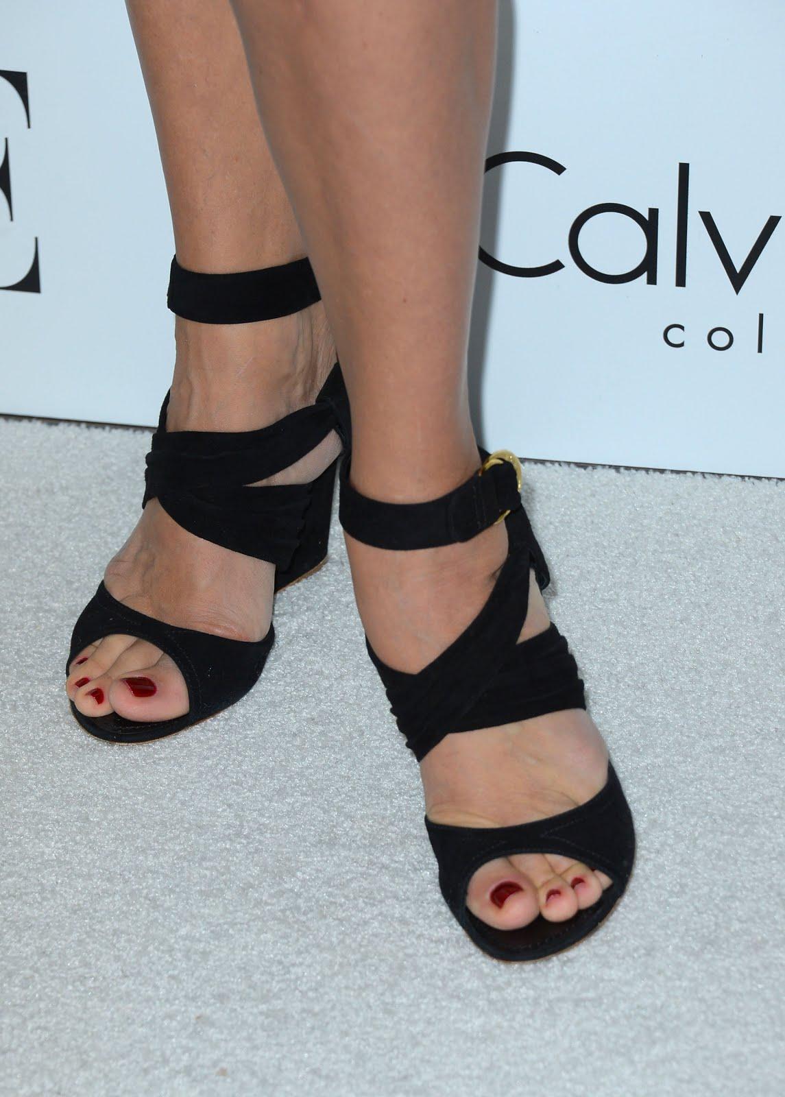 Celebrity Feet: Uma Thurman