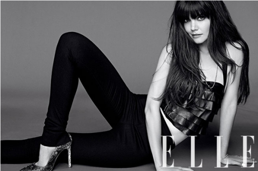Katie Holmes Elle Cover Story: Signs of Tom Cruise Split? » Gossip/Katie Holmes