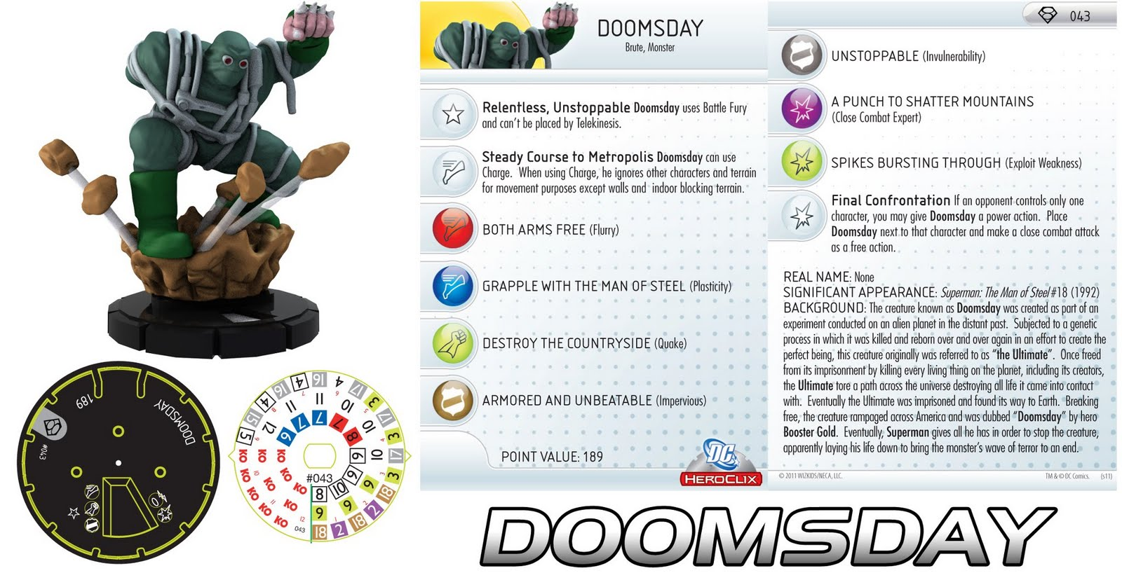 Heroclix and more: Review on Doomsday: What are they doing?