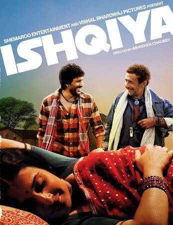 Poster Of Hindi Movie Ishqiya (2010) Free Download Full New Hindi Movie Watch Online At worldfree4u.com