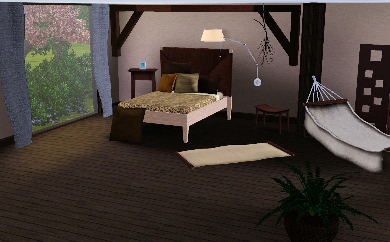 Schlafzimmer Decken: Zimmerdecke gestalten gemusterte tapeten ...