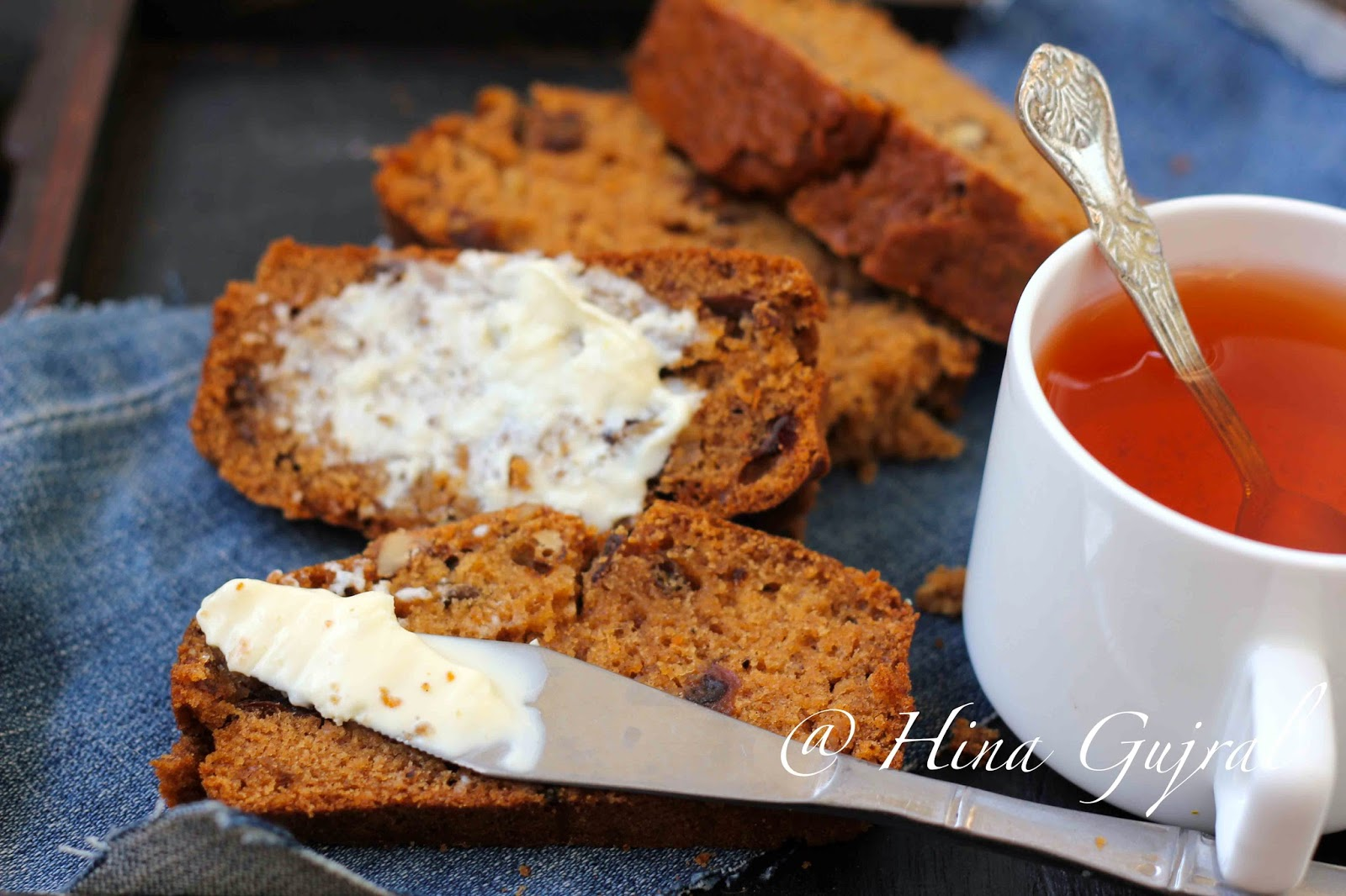 Date & Nut Quick Bread Recipe