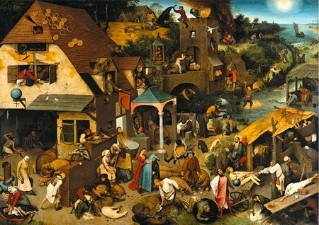 Netherlandish Proverbs: 112 Netherlandish Idioms in the Scene