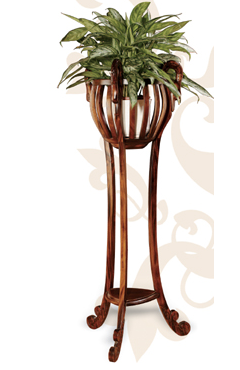 Kr pedestales para dar m s protagonismo a tus macetas - Pedestal para plantas ...