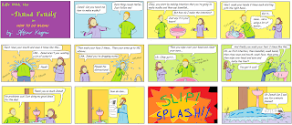 Life with the Ahmad Family comic for Muslim children - How to Make Wudhu