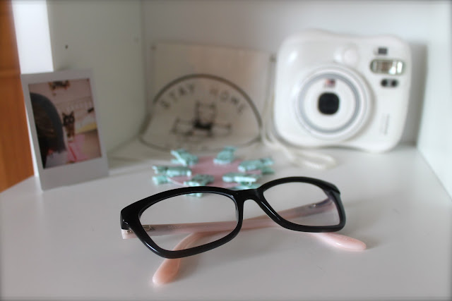 max & co pink and black glasses specsavers