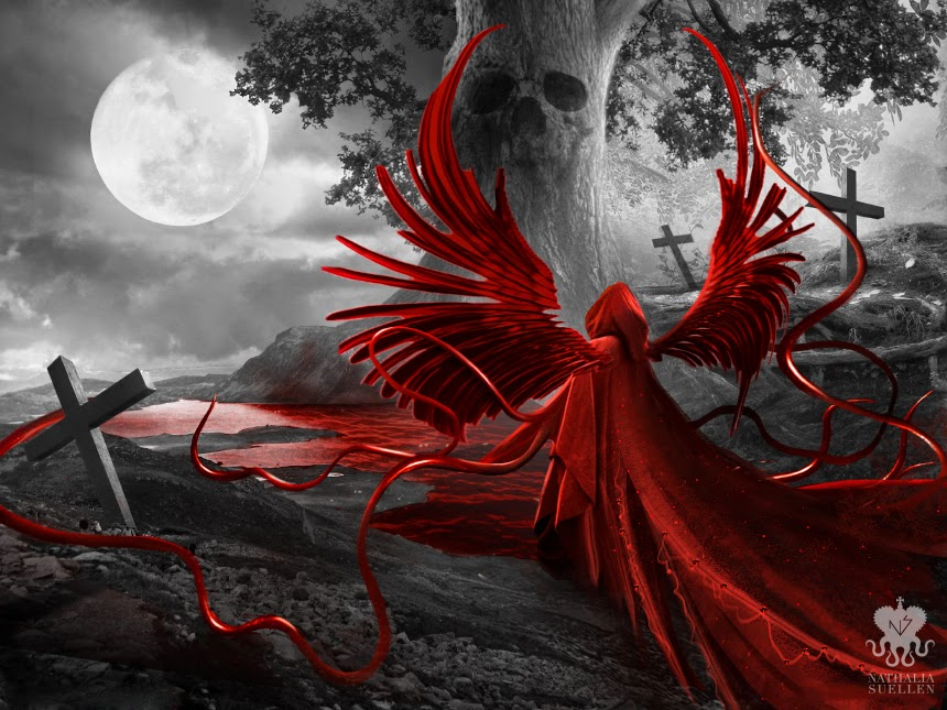 02-Red-Reaper-Nathalia-Suellen-Photography-Digital-Painting-To-Die-For-www-designstack-co