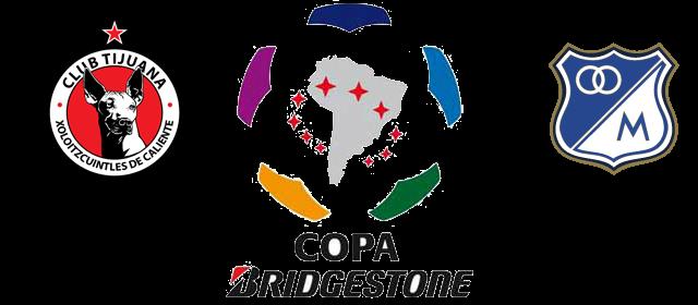 xolos de tijuana vs millonarios copa libertadores 2013