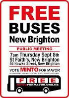 Free Buses to New Brighton