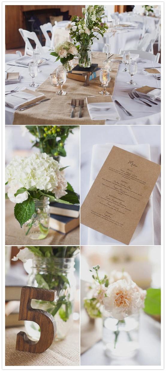 Oh mywedding bodas con tela de saco o arpillera burlap - Saco arpillera ...