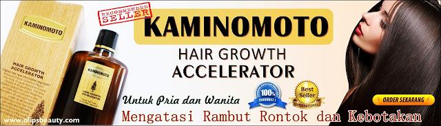 Kaminomoto Hair Growth Accelerator - Serum Penumbuh Rambut Mengatasi dan Mengobati Rambut Rontok dan Botak