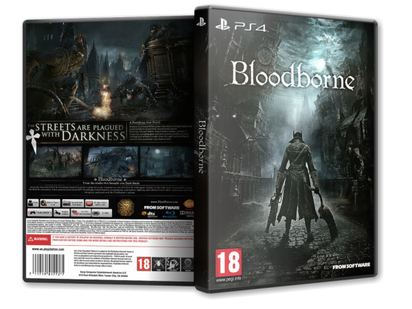 Capa Bloodborne PS4