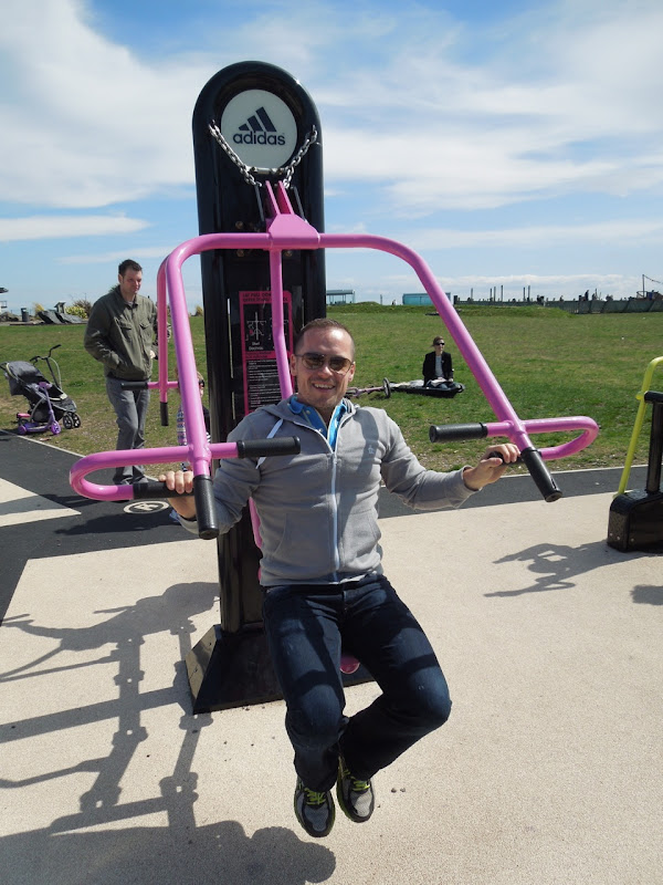 Cardiff Bay outdoor gym