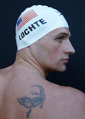 ryan lochte tattoo