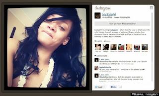 Rihanna, redes sociales, instagram