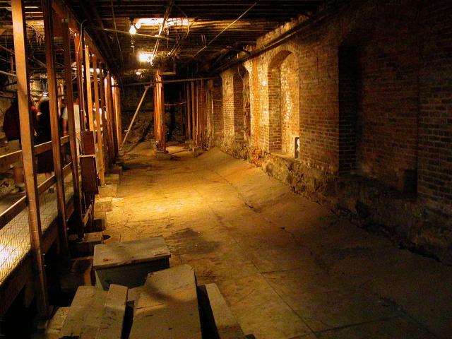 Haunted Underground Tour Portland Oregon