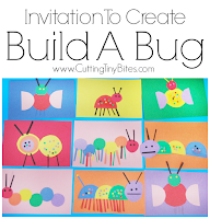 Build A Bug Paper Craft for Kids