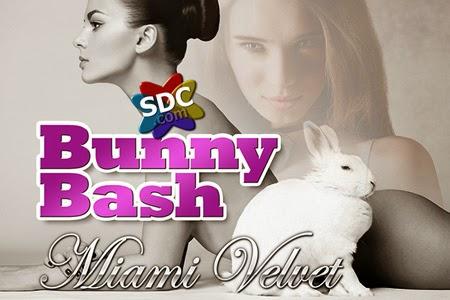 Fibi Love Hosting Bunny Bash at Miami Velvet