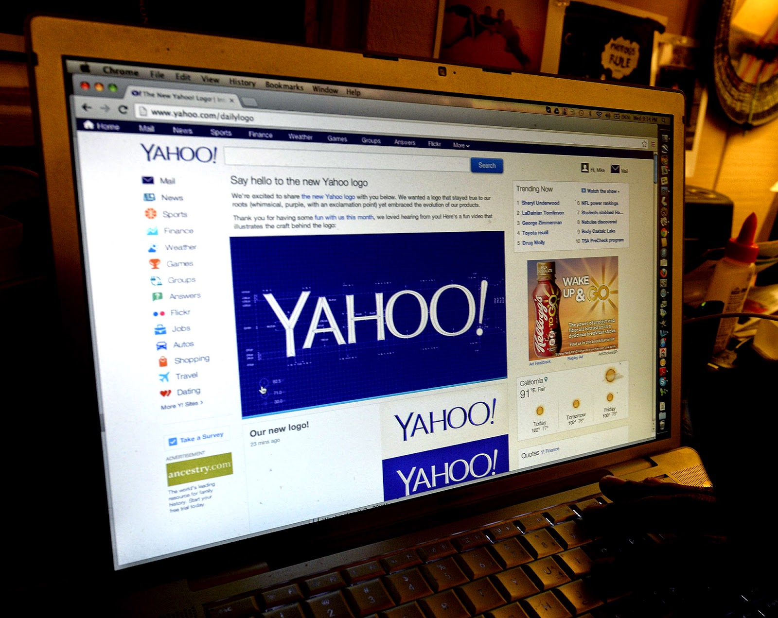 Yahoo starts prompting Internet Explorer, Opera users to switch to Firefox