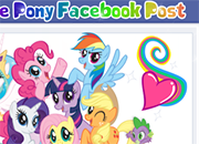 My Little Pony Facebook Post juego