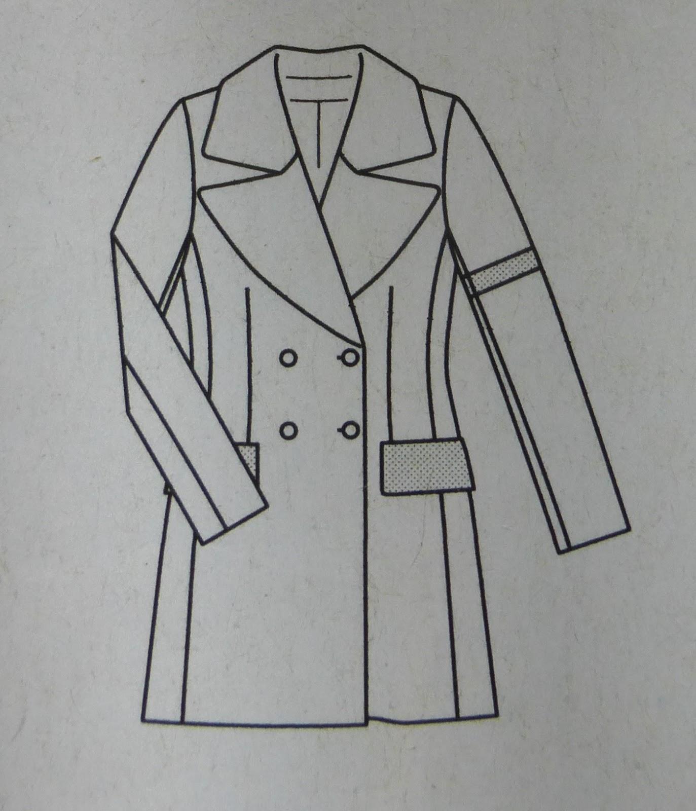 Kleidermanie: Winterjacken-Sewalong 2015: Cabanjacke oder Mantel?