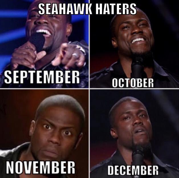 #seahawks #nfl.- seahawks haters, september, october, november, december