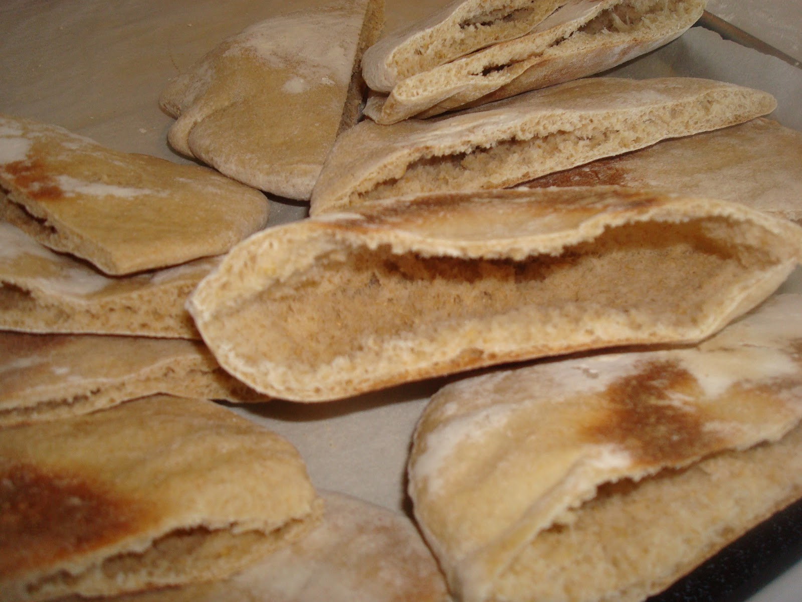 Make lemonade and more!: Homemade Pita Bread