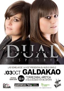 Presentación del single de DUAL, las gemelas de la Voz-