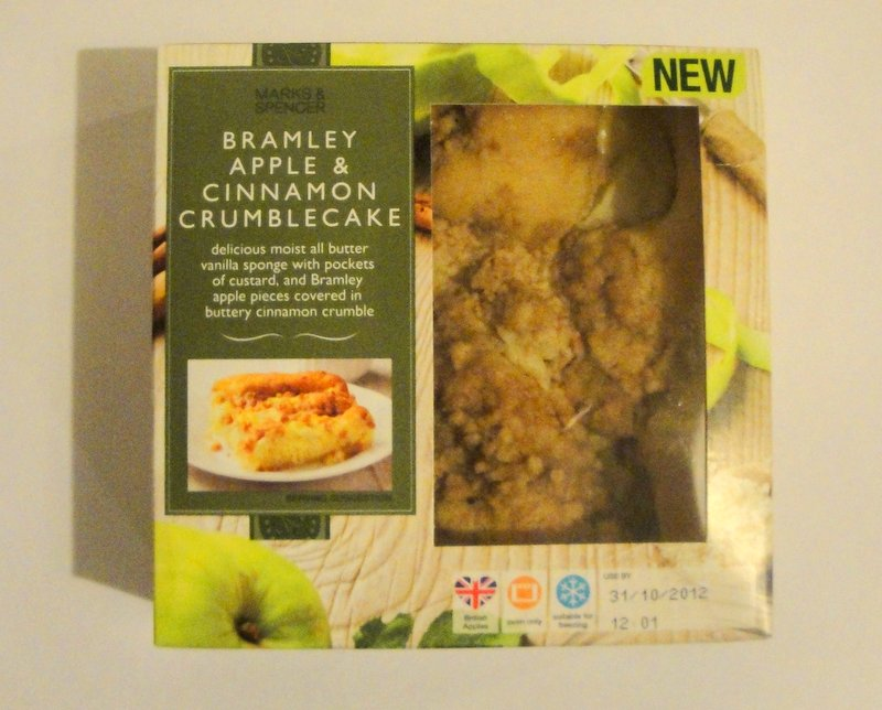 Grocery Gems: Marks & Spencer Bramley Apple & Cinnamon Crumblecake