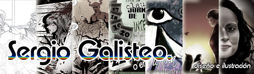 Sergio Galisteo. Diseño e Ilustración