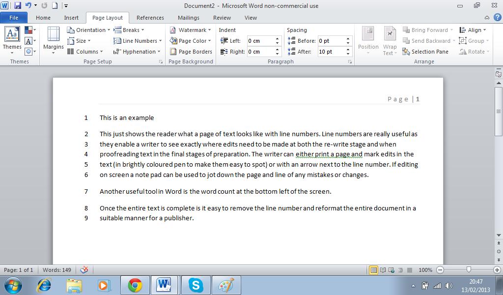 Writing up your dissertation - University of Reading