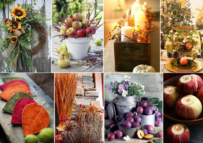 Decorazioni Autunnali Per La Casa : Decorazioni di ottobre e autunnali