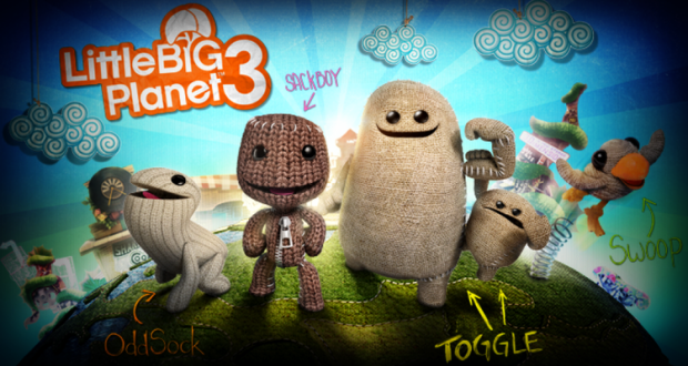 Little Big Planet 3 Characters